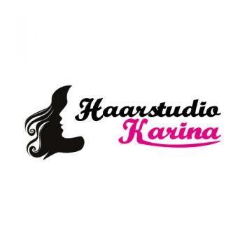 RedKlaxx Logo: Haarstudio Karina
