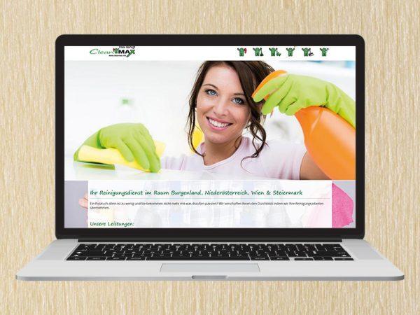 RedKlaxx Webdesign | Cleanmax | www.cleanmax.info