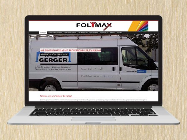 RedKlaxx Webdesign | Folimax | www.folimax.at