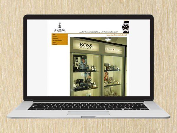 RedKlaxx Webdesign | Juwelier Nikitscher | www.juwelier-nikitscher.at