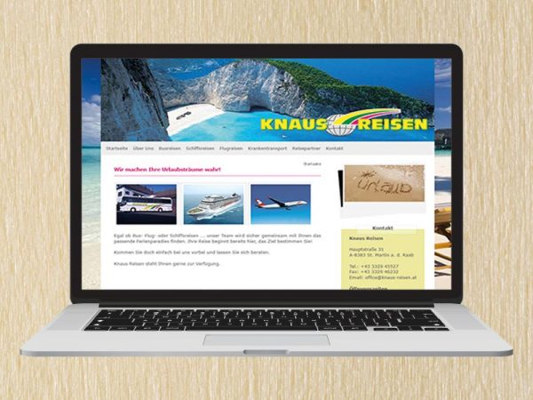 RedKlaxx Webdesign | Knaus Reisen