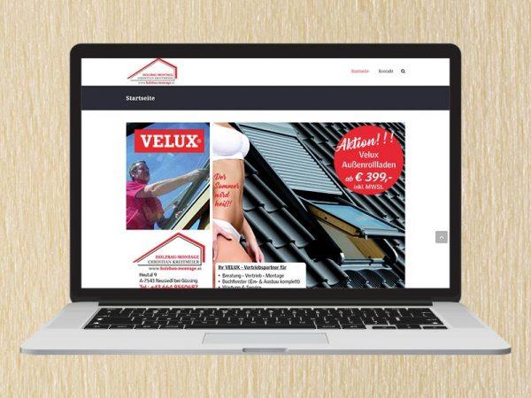 RedKlaxx Webdesign | Holzbau Montage Kreitmeier | www.holzbau-montage.at