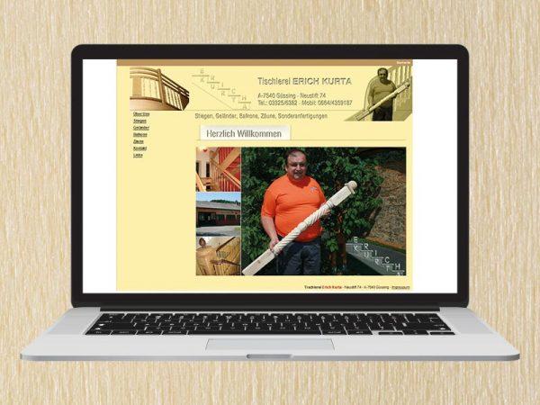 RedKlaxx Webdesign | Kurta Stiegen | www.kurta-stiegen.at