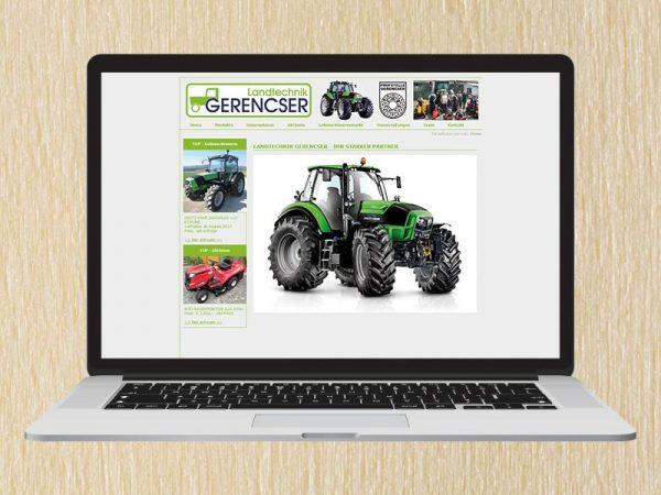 RedKlaxx Webdesign | Landtechnik Gerencser | www.landtechnik-gerencser.at