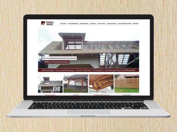 RedKlaxx Webdesign | Holzbau Marx | www.holzbau-marx.at