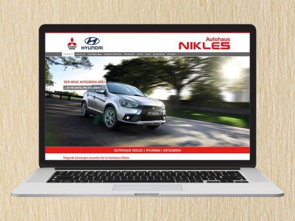RedKlaxx Webdesign | Autohaus Nikles