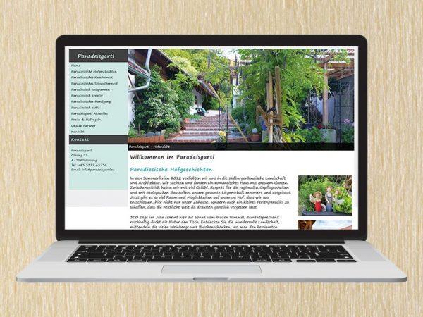 RedKlaxx Webdesign | Ferienwohnung Paradeisgartl
