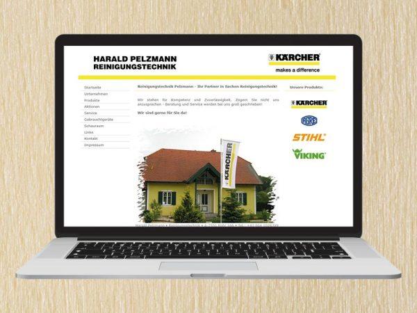 RedKlaxx Webdesign | Pelzmann Reinigungstechnik