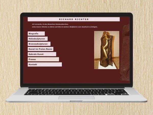 RedKlaxx Webdesign | Richter Skulpturen | www.richter-skulpturen.at