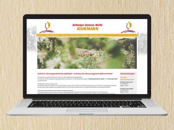 RedKlaxx Webdesign | Schnaps-Genuss-Meile Kukmirn | www.schnapsgenussmeile.at