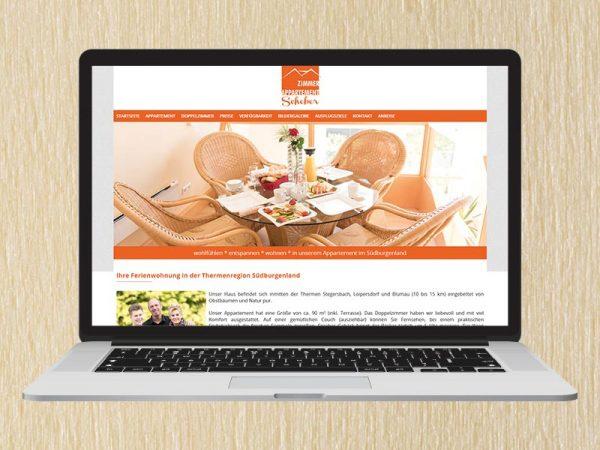 RedKlaxx Webdesign | Appartement Zimmer Schober | www.appartement-schober.at