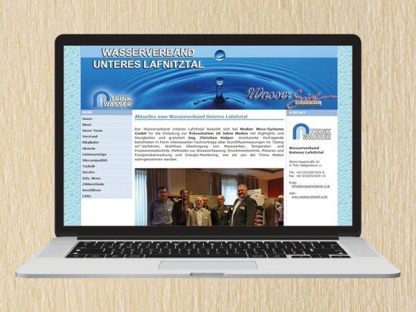 RedKlaxx Webdesign | Wasserverband Unteres Lafnitztal | www.wasserverband-ul.at