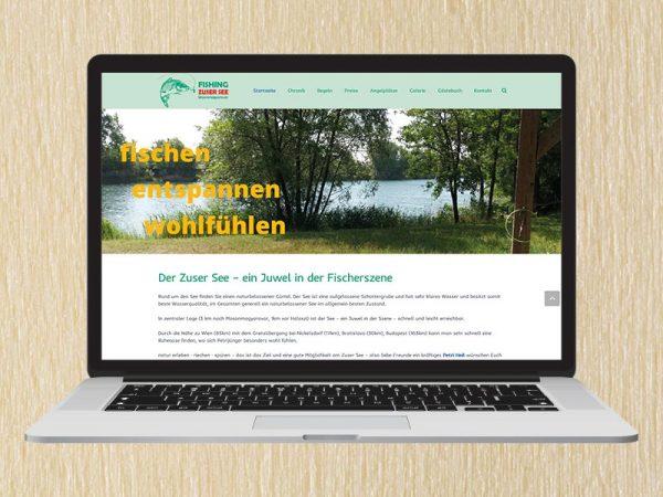 RedKlaxx Webdesign | Fishing ManuHirzer-See | www.zusersee.com