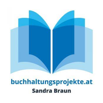 RedKlaxx Logo: Buchhaltungsprojekte Braun