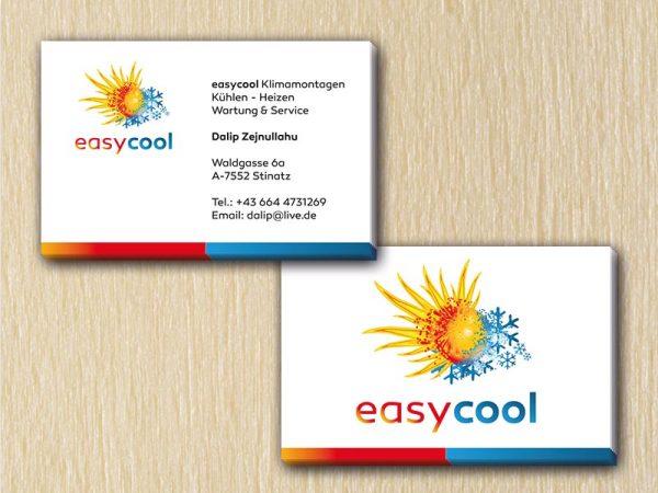 professionelle, einzigartige, handliche und personalisierte Visitenkarten von RedKlaxx