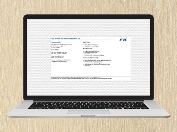 RedKlaxx Webdesign | PVC Planen Verarbeitung Csaszar | www.pvc.co.at