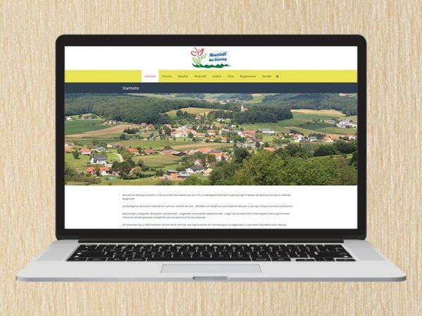 RedKlaxx Webdesign | Fremdenverkehrsverein Neusiedl bei Güssing | www.fvv-neusiedl.at