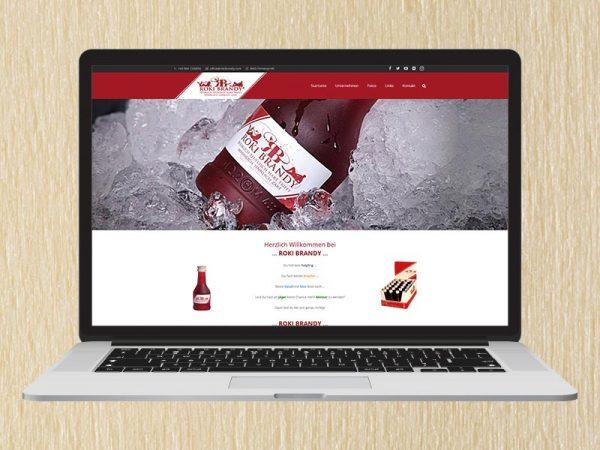 RedKlaxx Webdesign | Roki Brandy | www.rokibrandy.com