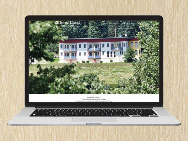 RedKlaxx Webdesign | Solens Land - Guest House | www.solensland.com