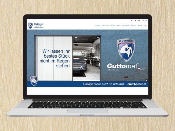 RedKlaxx Webdesign | Guttomat - Die Tormanufaktur | www.guttomat.at