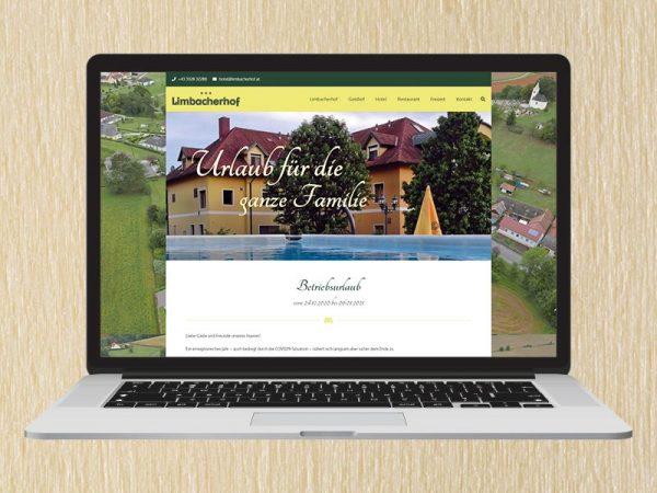 RedKlaxx Webdesign | Limbacherhof Kroboth | www.limbacherhof.at