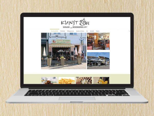 RedKlaxx Webdesign | KunstCafe Stegersbach | www.kunst-cafe.at