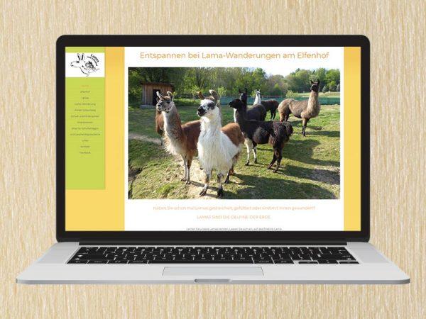 RedKlaxx Webdesign | Lama-Wanderungen | www.lama-wanderung.at