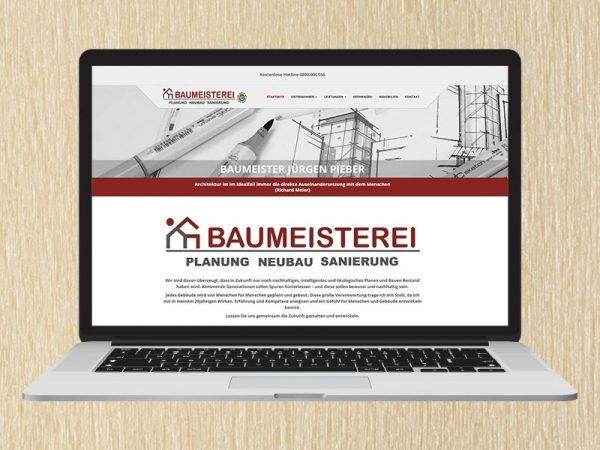 RedKlaxx Webdesign | Baumeister Jürgen Pieber | www.creative-project.at