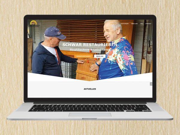 RedKlaxx Webdesign | Schwar Restaurieren | www.sandstrahlarbeiten.at