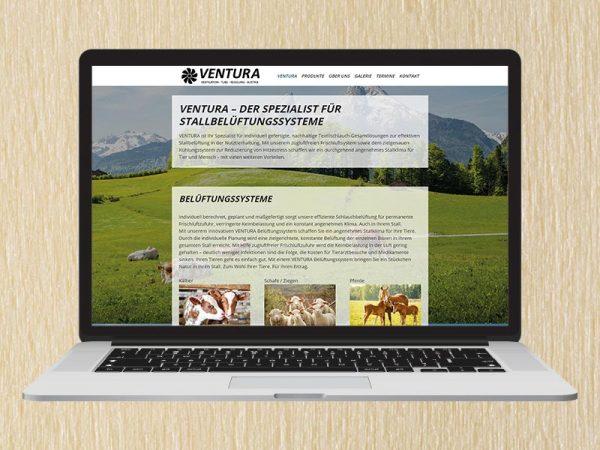 RedKlaxx Webdesign | Ventura GmbH | www.ventura-air.com